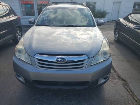 2011 Subaru Outback for sale at All State Auto Sales, INC in Kentwood MI
