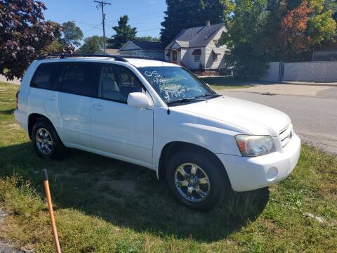 2005 Toyota Highlander for sale at All State Auto Sales, INC in Kentwood MI