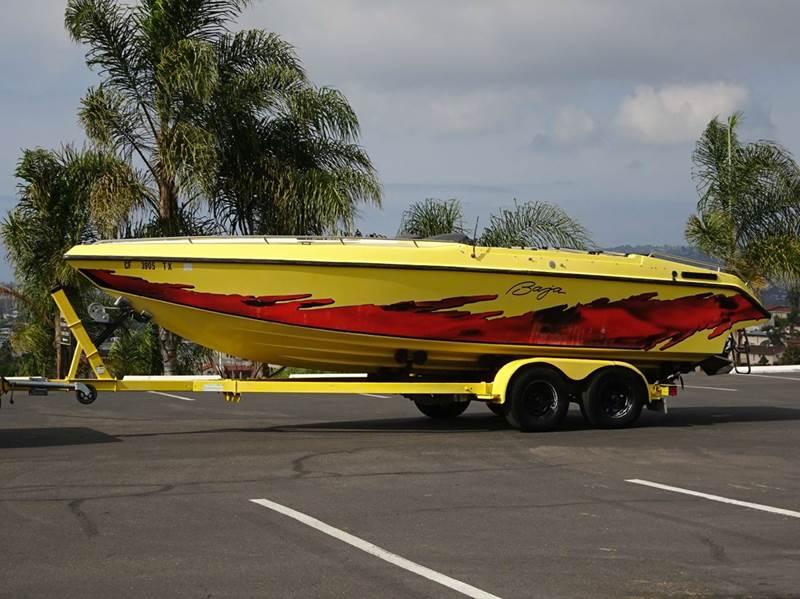 1990 Baja 22'  Yello - San Diego CA