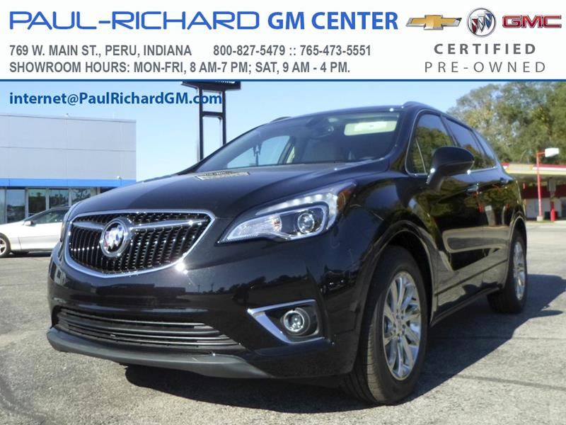 2020 Buick Envision for sale at Paul-RICHARD Gm Ctr in Peru IN
