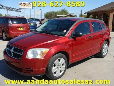 2007 Dodge Caliber for sale at A AND A AUTO SALES in Gadsden AZ