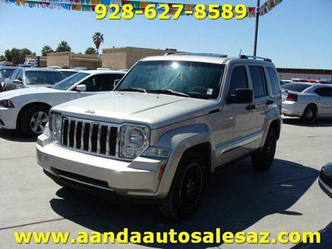 2008 Jeep Liberty for sale at A AND A AUTO SALES in Gadsden AZ