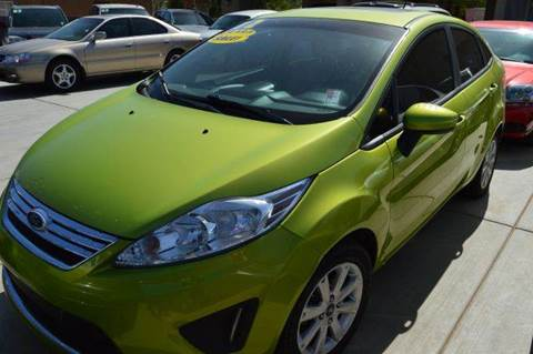 2012 Ford Fiesta for sale at A AND A AUTO SALES in Gadsden AZ