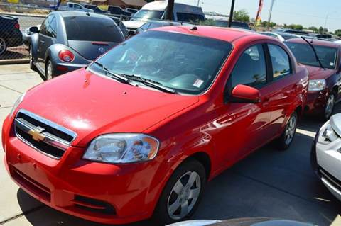2010 Chevrolet Aveo for sale at A AND A AUTO SALES - West Lot in Gadsden AZ