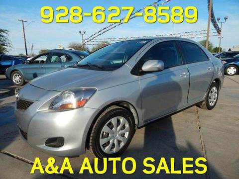 2012 Toyota Yaris for sale at A AND A AUTO SALES in Gadsden AZ