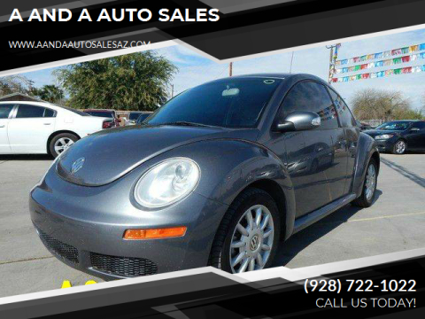 2006 Volkswagen New Beetle for sale at A AND A AUTO SALES in Gadsden AZ