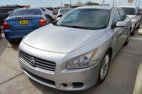 2010 Nissan Maxima for sale at A AND A AUTO SALES in Gadsden AZ