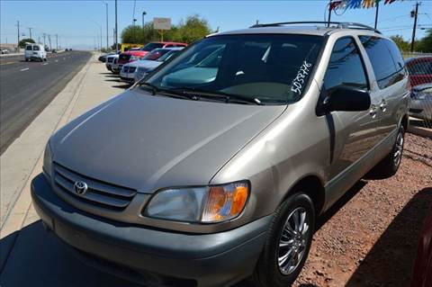 2002 Toyota Sienna for sale at A AND A AUTO SALES in Gadsden AZ