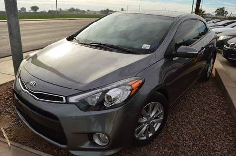 2014 Kia Forte Koup for sale at A AND A AUTO SALES in Gadsden AZ