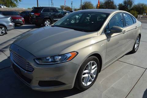 2015 Ford Fusion for sale at A AND A AUTO SALES in Gadsden AZ