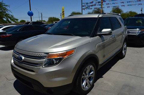 2011 Ford Explorer for sale at A AND A AUTO SALES in Gadsden AZ