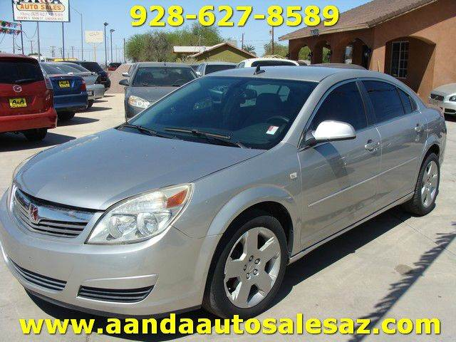 2008 Saturn Aura for sale at A AND A AUTO SALES in Gadsden AZ
