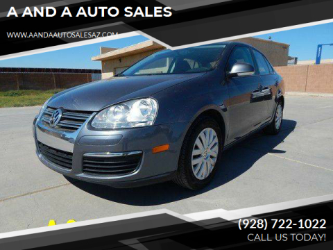 2010 Volkswagen Jetta for sale at A AND A AUTO SALES - East Lot in Gadsden AZ