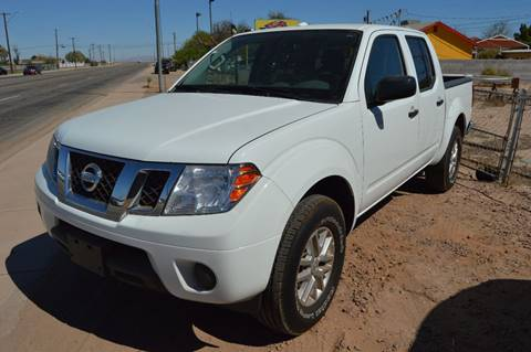 2014 Nissan Frontier for sale at A AND A AUTO SALES in Gadsden AZ