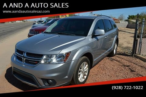 2016 Dodge Journey for sale at A AND A AUTO SALES in Gadsden AZ
