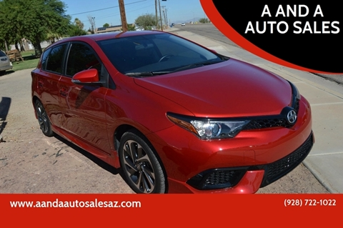 2016 Scion iM for sale at A AND A AUTO SALES in Gadsden AZ