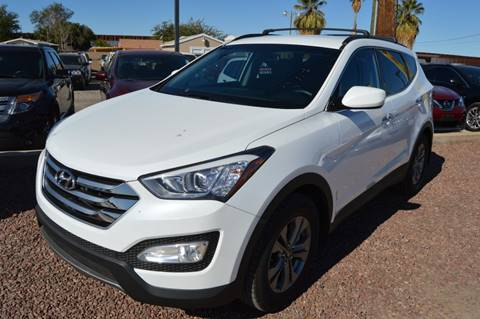 2015 Hyundai Santa Fe Sport for sale at A AND A AUTO SALES in Gadsden AZ