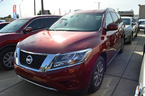 2015 Nissan Pathfinder for sale at A AND A AUTO SALES in Gadsden AZ