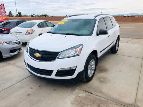 2017 Chevrolet Traverse for sale at A AND A AUTO SALES in Gadsden AZ