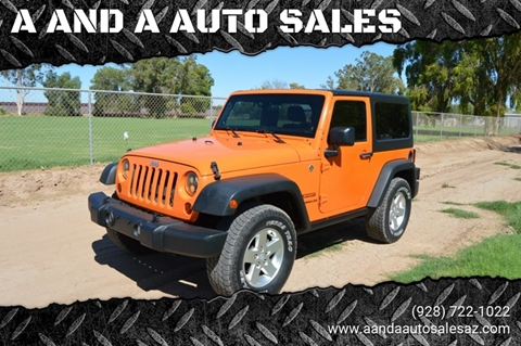 2012 Jeep Wrangler for sale in Gadsden, AZ