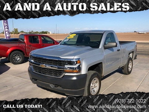 2017 Chevrolet Silverado 1500 for sale at A AND A AUTO SALES in Gadsden AZ