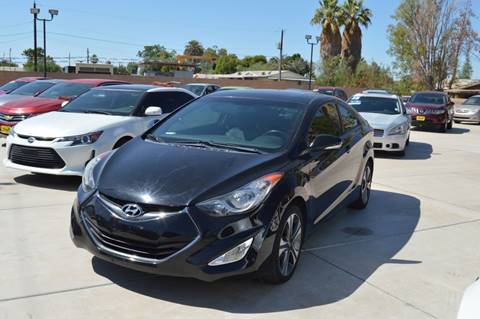 2013 Hyundai Elantra Coupe for sale at A AND A AUTO SALES in Gadsden AZ