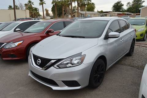 2017 Nissan Sentra for sale at A AND A AUTO SALES in Gadsden AZ