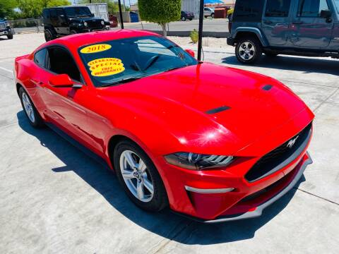 2018 Ford Mustang for sale at A AND A AUTO SALES - Yuma Location in Yuma AZ