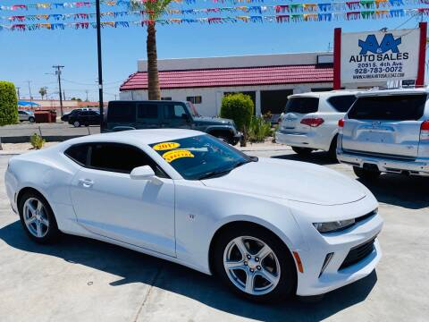2017 Chevrolet Camaro for sale at A AND A AUTO SALES - Yuma Location in Yuma AZ
