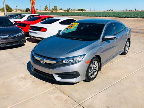 2017 Honda Civic for sale at A AND A AUTO SALES in Gadsden AZ