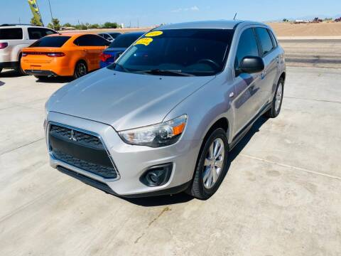 2014 Mitsubishi Outlander Sport for sale at A AND A AUTO SALES in Gadsden AZ