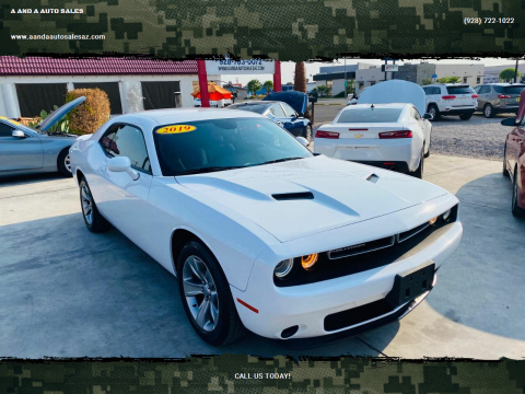 2019 Dodge Challenger for sale at A AND A AUTO SALES - Yuma Location in Yuma AZ