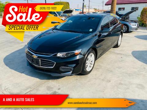 2018 Chevrolet Malibu for sale at A AND A AUTO SALES - Yuma Location in Yuma AZ