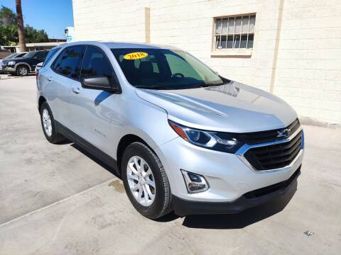 2018 Chevrolet Equinox for sale at A AND A AUTO SALES in Gadsden AZ
