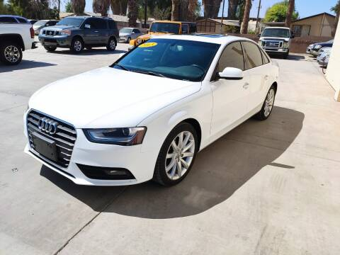 2013 Audi A4 for sale at A AND A AUTO SALES in Gadsden AZ