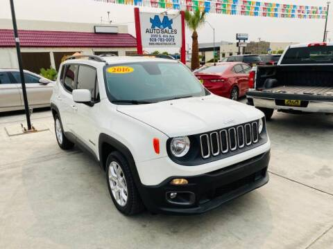 2016 Jeep Renegade for sale at A AND A AUTO SALES - Yuma Location in Yuma AZ