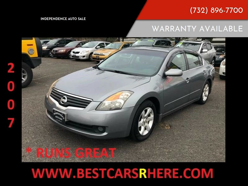 2007 Nissan Altima 2 5 S In Bordentown Nj Independence Auto Sale