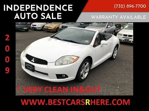2009 Mitsubishi Eclipse Spyder for sale in Bordentown, NJ