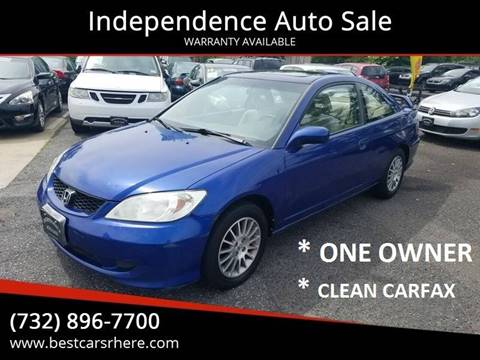 2005 Honda Civic for sale in Bordentown, NJ