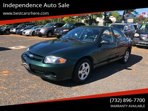 2004 Chevrolet Cavalier for sale in Bordentown, NJ