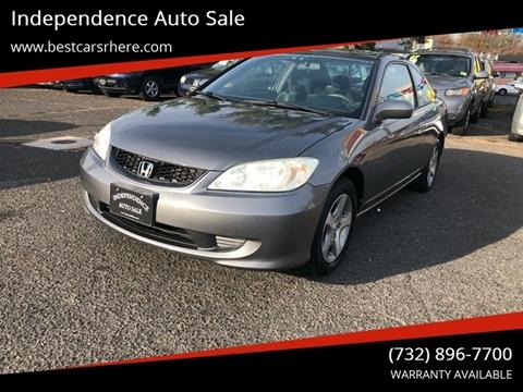 2005 Honda Civic for sale in Bordentown, NJ