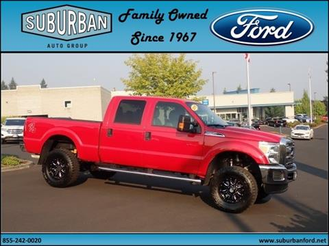 2015 Ford F-250 Super Duty for sale in Sandy, OR