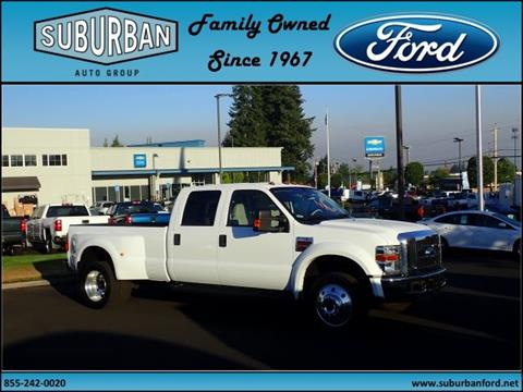 2008 Ford F-450 Super Duty for sale in Sandy, OR