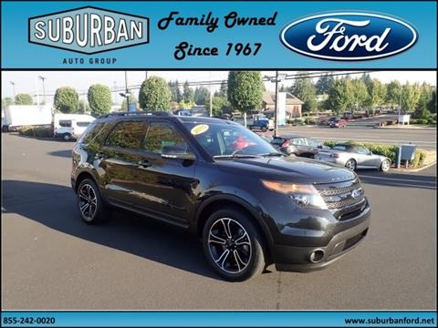 2015 Ford Explorer for sale in Sandy OR