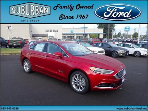 2018 Ford Fusion Energi for sale in Sandy OR
