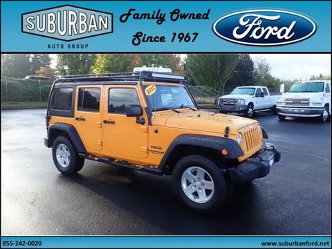 2012 Jeep Wrangler Unlimited for sale in Sandy OR