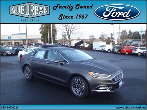 2017 Ford Fusion for sale in Sandy OR