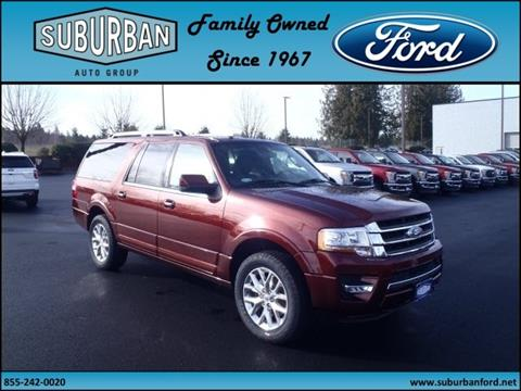 2017 Ford Expedition EL for sale in Sandy OR