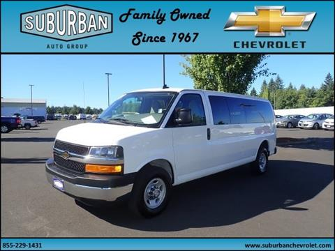 2017 Chevrolet Express Passenger for sale in Sandy, OR