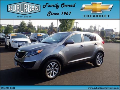 2015 Kia Sportage for sale in Sandy, OR